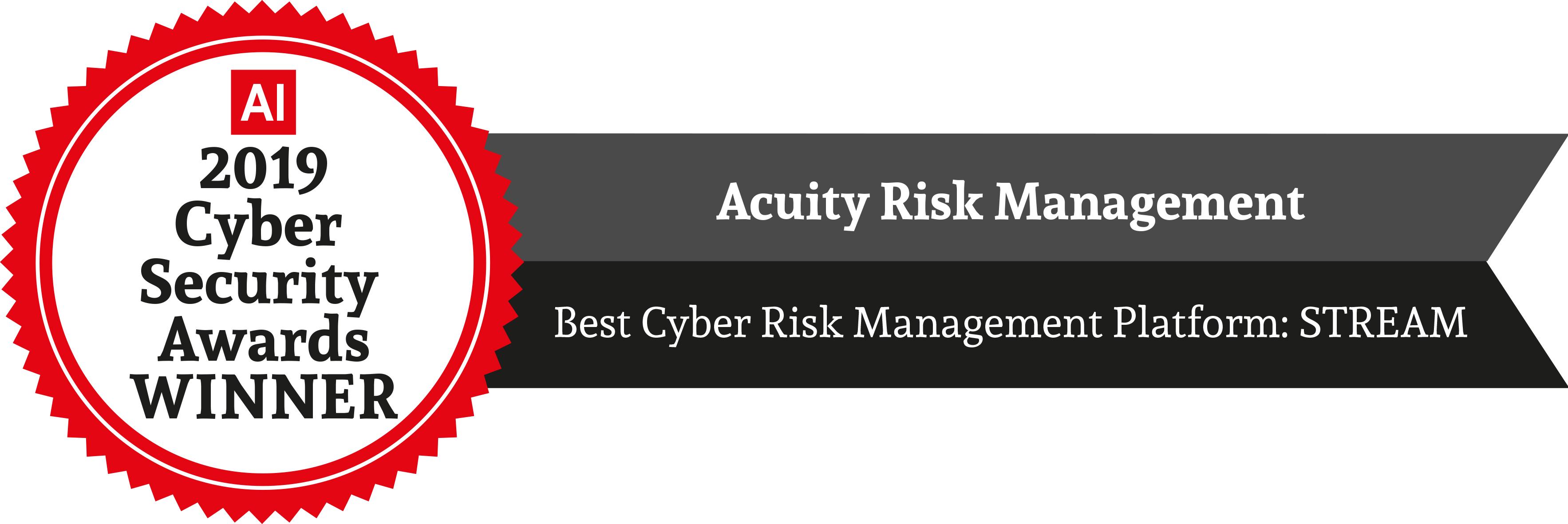 Best Cyber Risk Management Platform 2019