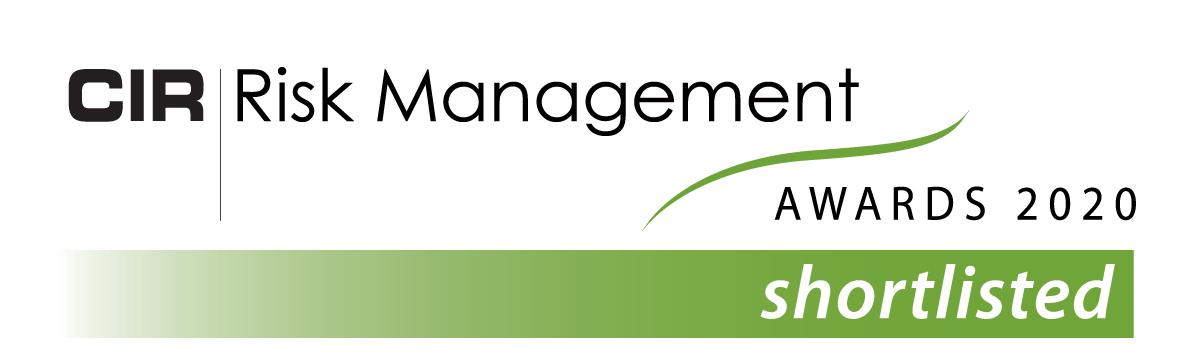 CIR Risk Management Awards 2020 - STREAM shortlisted
