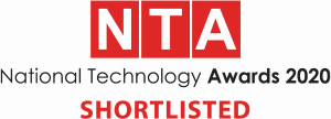 National Tech Awards 2020 - shortlisted company