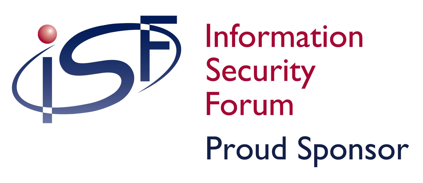 ISF Proud Sponsorship Logo